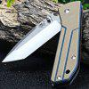 Sanrenmu 7071LTF - GVK Outdoor Folding Knife - SAND