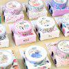 Masking Decorative Adhesive Tape Cute Kawaii Flowers Cartoon - MULTI-E