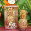 Cute Golden Pineapple Candle - GOLD