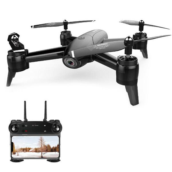 SG106 22mins Flight RC Drone RTF - Black 720P One Battery