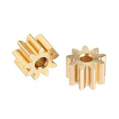 XK K130 RC Helicopter Parts Steel Motor Gear 2PCS