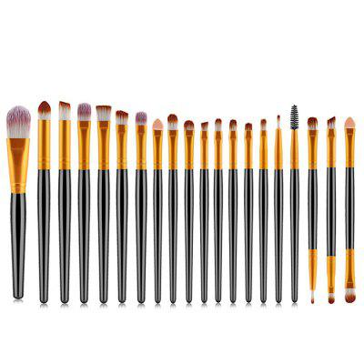 Ensemble de Pinceau de Maquillage Outils de Maquillage 20pcs