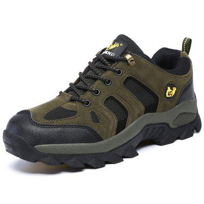 Men's Durable Breathable Outdoor Hiking Shoes Lace-up