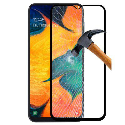 QULLOO 2.5D 9H Tempered Glass Screen Protector for Samsung Galaxy A30 / Galaxy A50