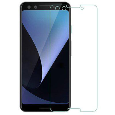 QULLOO 2.5D Full Cover Tempered Glass Protective Film for Google Pixel 3