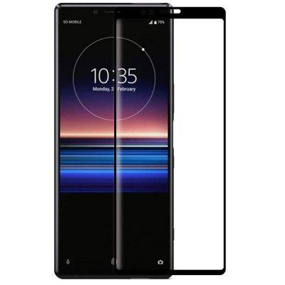 QULLOO 2.5D Full Coverage Tempered Glass Protective Film for Sony Xperia 1