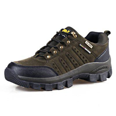Men's Lace-up Outdoor Hiking Shoes Anti-slip Breathable