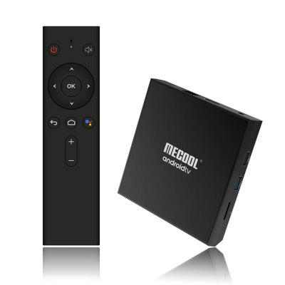 MECOOL KM9 Pro TV Box Certificado do Google Controle via Voz Amlogic