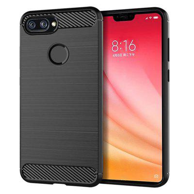 leeHUR TPU Custodia per Cellulare Xiaomi Mi 8 Youth Edition