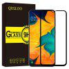 QULLOO 2.5D 9H Tempered Glass Screen Protector for Samsung Galaxy A30 / Galaxy A50 - BLACK