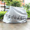 Bicycle Ash Hood Electric Car Motorcycle Rain Cover - GRAY