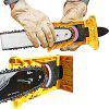 Fast Grinding Woodworking Chain Saw Sharpener - YELLOW