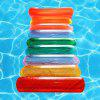 Colorful Horizontal Strip Shape Inflatable Floating Bed - MULTI