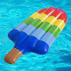 Popsicle Shape Ice Cream Opblaasbaar Drijvend Bed Kinderen Outdoor Water Toy - MULTI