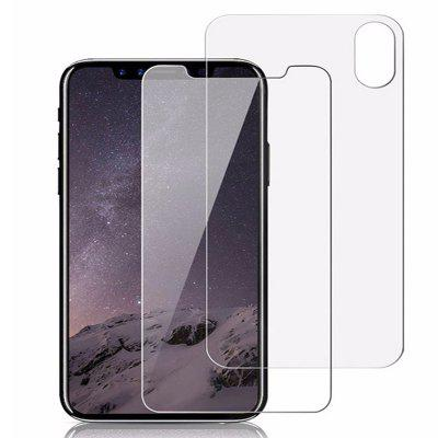 Protecteur d'Ecran Transparent 9H HD Anti-Déflagrant pour iPhone X / XS / XR / XS Max