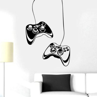 MU4301 Gamepad Game Room Decoratie Muursticker