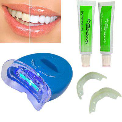 Electric Dental Teeth Whitening Kit with LED Light