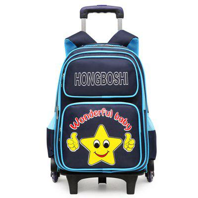 608 Waterproof Oxford Cloth Children Six Rounds Trolley Bag