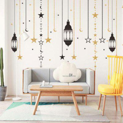 Home Decoration Chandelier PVC Wall Sticker