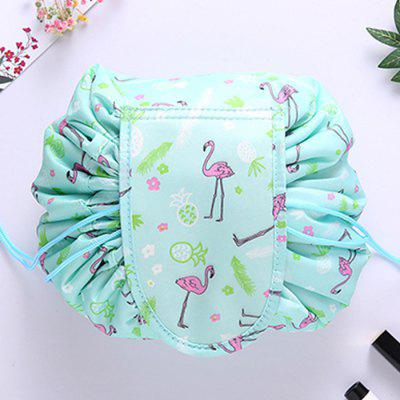Kreativní Drawstring Round Storage Bag