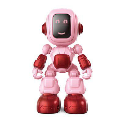 Induction Smart Robot with Music Light Children's Educational Toy