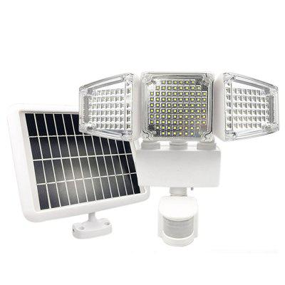 188-LED Three-head Solar Floodlight