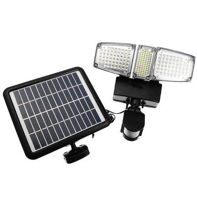 178-LED Three-head Solar Floodlight