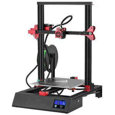 Alfawise U20 ONE 3.5 inch Touch Screen 3D Printer 300 x 300 x 400mm Double Z-axis  - Touch Screen EU Plug Black