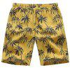 Coulisse Hawaiian Coconut Tree da uomo Casual Shorts con coulisse in vita - MULTI COLORI-A