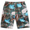 Pantalones cortos casuales Beach Pants Fashion Print - MULTICOLOR-A