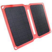 FSC - F1 - 050100 10W 5V Outdoor Waterproof Portable Solar Charging Board for Mobile Phone