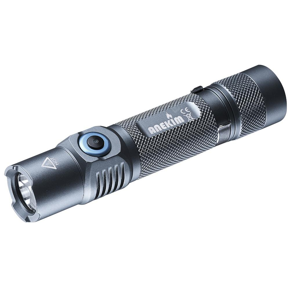 Anekim VC30 1050lm USB Direct Charging Flashlight
