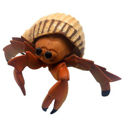 High Simulation Marine Life Hermit Crab Model