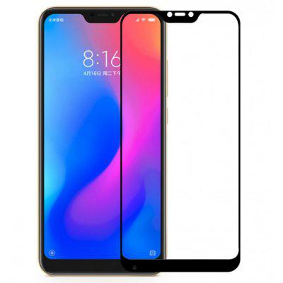 QULLOO 2.5D Full Coverage Glass Protective Film for Xiaomi Redmi 6 Pro / Xiaomi Mi A2 Lite 1pc