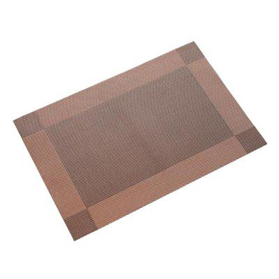 Free Wash PVC Insulated Table Mat 2pcs