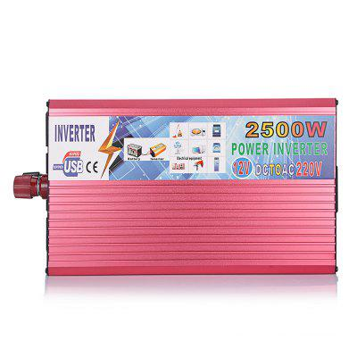 LY2000X 2000W USB 12V DC až 220V AC Car Power Converter