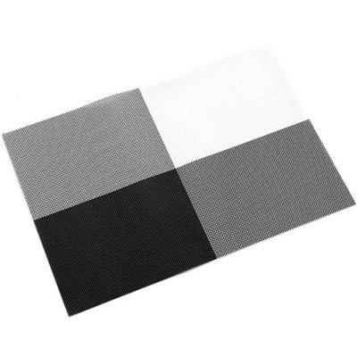 Isolamento Anti-queimaduras Coaster Table Mat PVC Placemat 2PCS