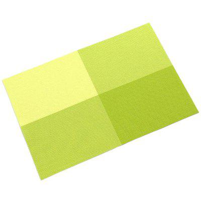 Isolamento Anti-escaldante Coaster Mat Mesa Anti-slip Placemat 2pcs