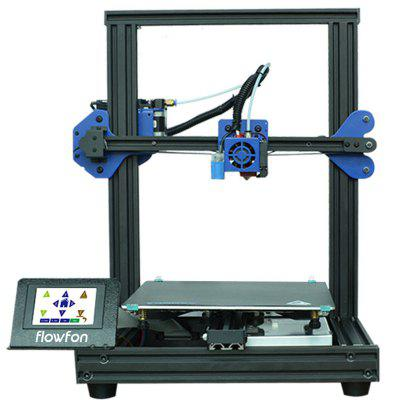 Flowfon P20 Fast Assembly 3D Printer with 3.5 inch Screen
