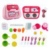 931 Houseware Kitchenware Medical Tools Cosmetics Educational Pretend Play Toy - PINK