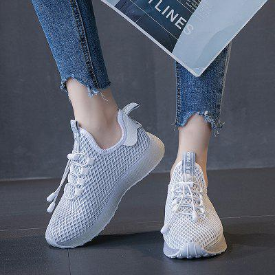 Women's Jelly Breathable Sneakers Anti-collision Toe