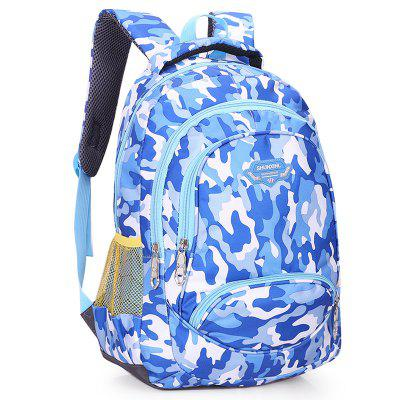 H0137 Outdoor Fashion Casual Camouflage Backpack