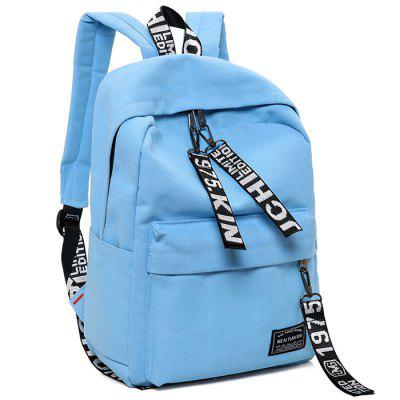 H018 Canvas Outdoor Casual Backpack