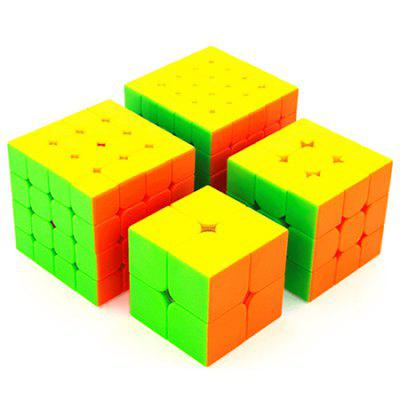 Nivel de joc profesionist Magic Cube Puzzle Toys 4pcs