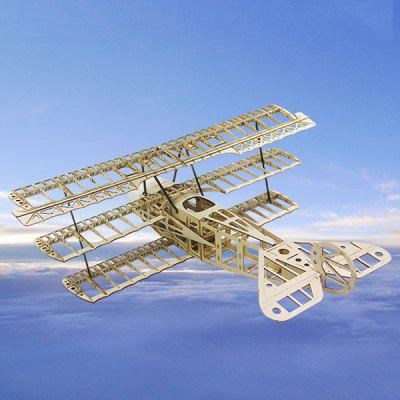 Red Baron Fixed-wing Aircraft Three-wing FOKKER DR1 Kit Model