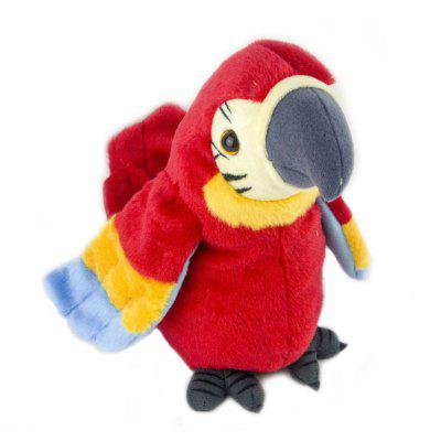 Cute Electric Parrot Plush Toy