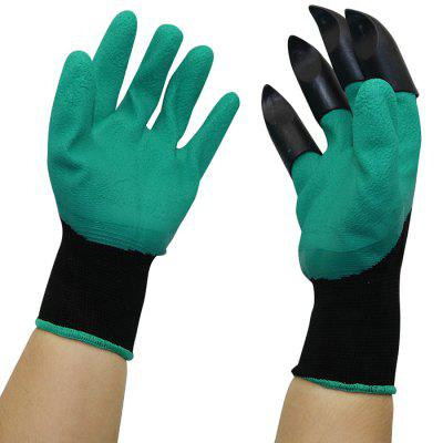 Garden Planting Protective Gloves Five-finger Wearable