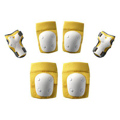 700Kids Skating Protective Gear Children's Skating Knee Pads Elbow Palm Set from Xiaomi youpin 6pcs