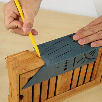 Woodworking Ruler Miter Square Angle Measuring Tool