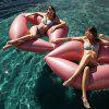 Red Lip Water Inflatable Floating Bed - PINK